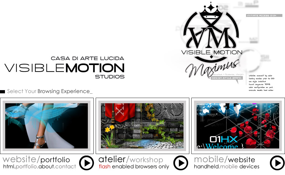 Welcome to Visible Motion Studios